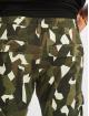 Urban Classics Cargohose Geometric Stretch Twill camouflage
