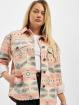 Urban Classics Chaqueta de entretiempo Ladies Inka Oversized rosa