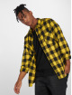 Urban Classics Chemise Checked Flanell noir 0