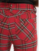 Urban Classics Chino Skinny Tartan red