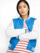 Urban Classics College Jacket Ladies Light blue