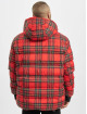 Urban Classics Foretjakker Hooded Check rød