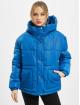 Urban Classics Gewatteerde jassen Ladies Oversized Hooded blauw