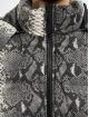 Urban Classics Gewatteerde jassen Hooded AOP grijs