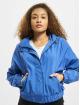 Urban Classics Giacca Mezza Stagione Oversized Shiny Crinkle Nylon blu