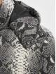 Urban Classics Giacche trapuntate Hooded AOP grigio