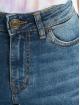 Urban Classics Højtaljede bukser Ladies Skinny High Waist blå