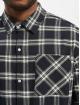 Urban Classics Hemd Oversized Check blau
