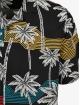 Urban Classics Hemd Palm Tree Resort schwarz