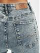 Urban Classics High Waisted Jeans Ladies High Waist modrá