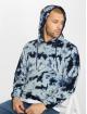 Urban Classics Hoody Velvet Tie Dye indigo 0