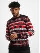 Urban Classics Jersey Snowflake Christmas Tree negro