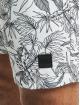 Urban Classics Kúpacie šortky Low Block Pattern biela