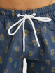 Urban Classics Kúpacie šortky Pineapple modrá