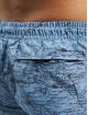 Urban Classics Kúpacie šortky Pattern modrá
