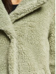 Urban Classics Kabáty Ladies Oversized Sherpa olivový