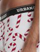Urban Classics Kalsonger Christmas Fun 3er-Pack vit