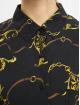 Urban Classics Košile Ladies Viscose Oversize čern