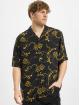 Urban Classics Košile Viscose Resort čern