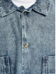 Urban Classics Košile Oversized Denim modrý