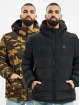 Urban Classics Kurtki pikowane Reversible Hooded czarny