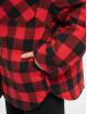 Urban Classics Kurtki przejściowe Ladies Flanell Padded Overshirt czarny
