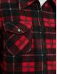 Urban Classics Kurtki przejściowe Plaid Teddy Lined czerwony