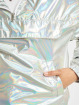 Urban Classics Kurtki przejściowe Holographic Pull Over srebrny