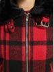 Urban Classics Kurtki zimowe Ladies Plaid czerwony