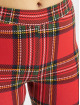 Urban Classics Leggings/Treggings Ladies AOP Tartan czerwony