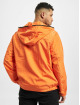 Urban Classics Lightweight Jacket Full Zip Nylon Crepe orange