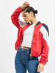 Urban Classics Lightweight Jacket 3-Tone red