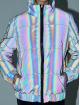 Urban Classics Prošívané bundy Ladies Iridescent Reflectiv šedá