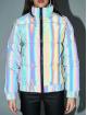 Urban Classics Puffer Jacket Ladies Iridescent Reflectiv bunt