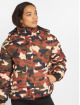 Urban Classics Puffer Jacket Boyfriend Camo camouflage 0