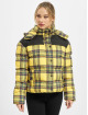 Urban Classics Puffer Jacket Ladies AOP 2-Tone gelb