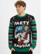 Urban Classics Pullover Savior Christmas black