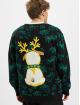 Urban Classics Pullover Pug Christmas black