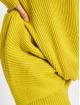 Urban Classics Pulóvre Wrapped žltá 3