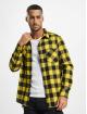 Urban Classics Shirt Checked Flanell black