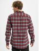 Urban Classics Shirt Plaid Cotton gray