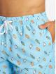 Urban Classics Shorts Pattern Swim blau