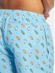 Urban Classics shorts Pattern Swim blauw