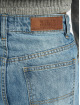 Urban Classics Straight Fit Jeans Ladies High Waist blue