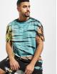 Urban Classics T-Shirt Tie Dye Oversized T-Shirt black