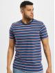 Urban Classics T-Shirt Fast Stripe Pocket bleu