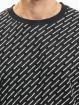 Urban Classics T-Shirt Allover Logo schwarz