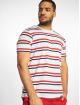 Urban Classics T-Shirty Yarn Dyed Skate Stripe bialy