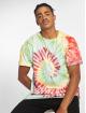 Urban Classics T-skjorter Spiral Tie Dye Pocket mangefarget 0