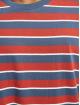 Urban Classics T-skjorter Yarn Dyed Oversized Board Stripe red